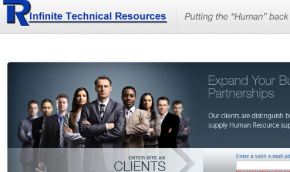 Staffing Company Website